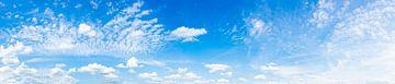 Panorama vom blauem Himmel von Günter Albers