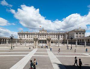 Spanje, Koninklijk paleis Madrid. van