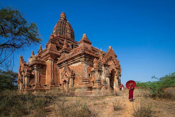 Monnik in Bagan