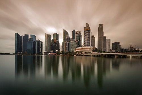 Marina Bay Singapore van
