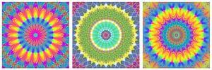 Regenboog Mandalas 3