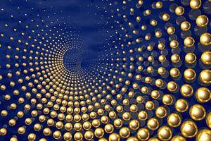 Ammonite bluegold van