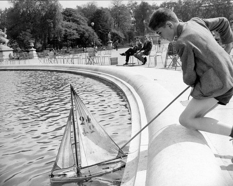 Vintage foto 1960 van Jaap Ros