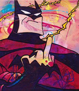 Angry Batman von Frans Mandigers