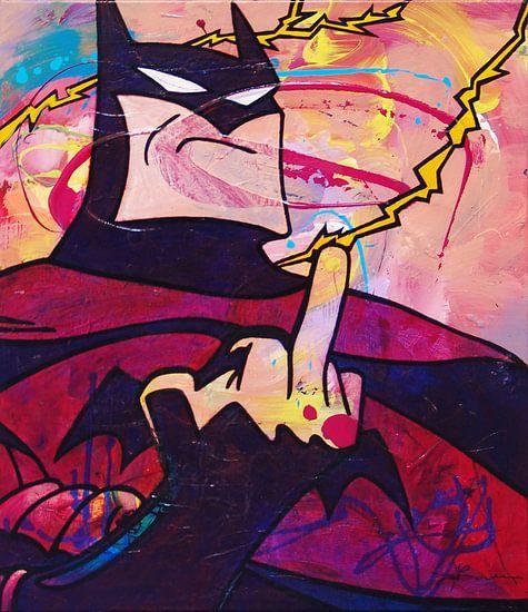 Angry Batman van Frans Mandigers