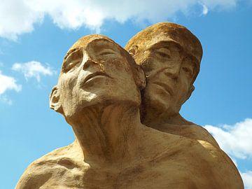 Ergreifendes Kunstwerk Denkmal in Digoin sur