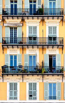 Französische Fassade von