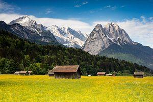 View of the Zugspitze van