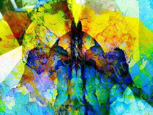 Modern, Abstract kunstwerk - The Beast Inside