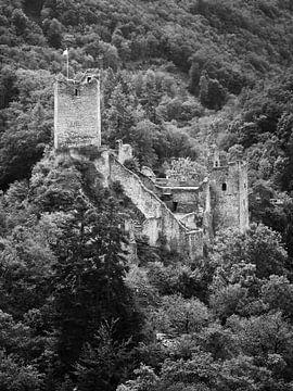 Ruine de Niederburg Manderscheid dans la région de l'Eifel 2 sur Jörg Hausmann