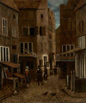 Straßenszene, Jacobus Vrel