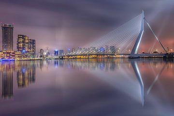 Rotterdam skyline fine art van Dennisart Fotografie