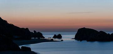 Sonnenuntergang Schwarzes Meer von Daan Kloeg