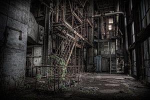 Verlaten energiecentrale 3