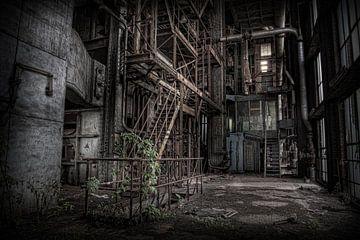 Verlassenes Kraftwerk 3 von Eus Driessen
