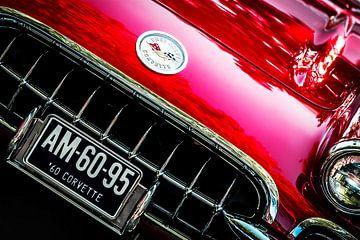Chevrolet Corvette 1960 van Rene Jacobs