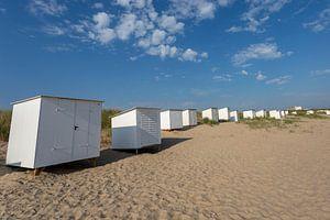 Les maisons de plage de Breskens sur Hendrik Harm