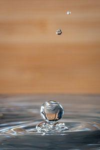 Waterdruppel van Ron Jobing