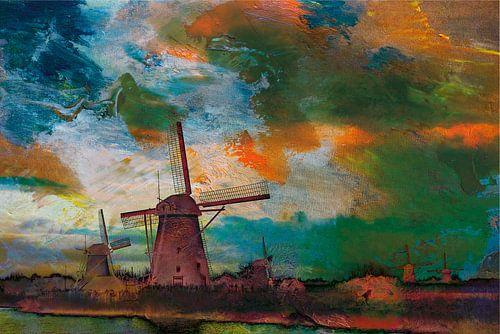 Dutch Windmills von Harry Hadders