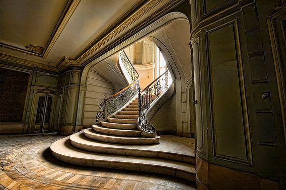 Urbex Stairs van Henny Reumerman