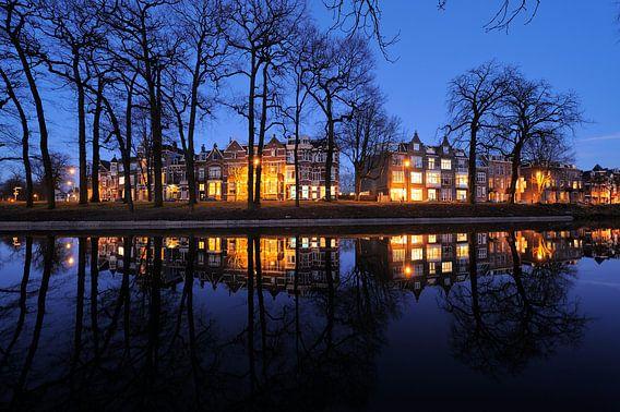De Maliesingel ter hoogte van Zonnenburg in Utrecht (2) van Donker Utrecht