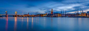 Kampen avond panorama van Sjoerd van der Wal