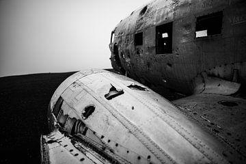 Island Flugzeug Wrack
