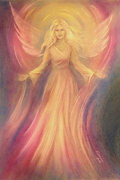 Engel van Hoop - engel het schilderen van Marita Zacharias