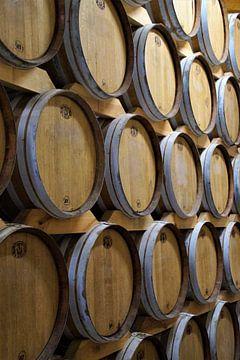 Cognac-vaten Vignerons Ile de Re van Maurits Bredius