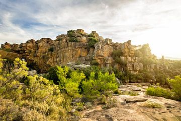 Coucher de soleil Afrique du Sud sur Laura Slaa