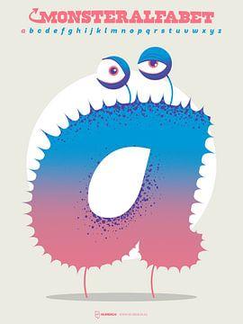 Monsteralfabet - A van Gilmar Pattipeilohy