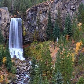 Tumalo Falls sur lieve maréchal