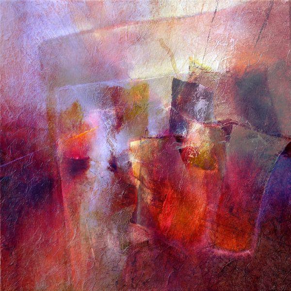 Träumen vom Sommer - rot trifft violett von Annette Schmucker