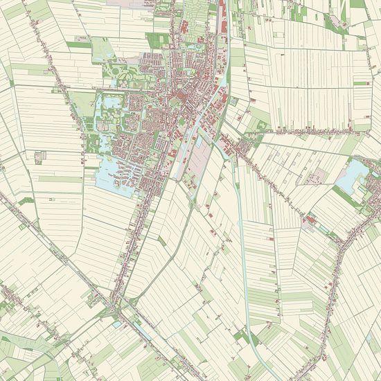 Kaart vanVeendam