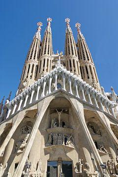 La façade de la Passion de la Sagrada Familia sur Berthold Werner
