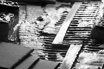 Kunstlandschaft aus Karton von Robin Jongerden