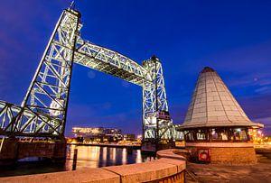 Hefbrug; Framing in Rotterdam van