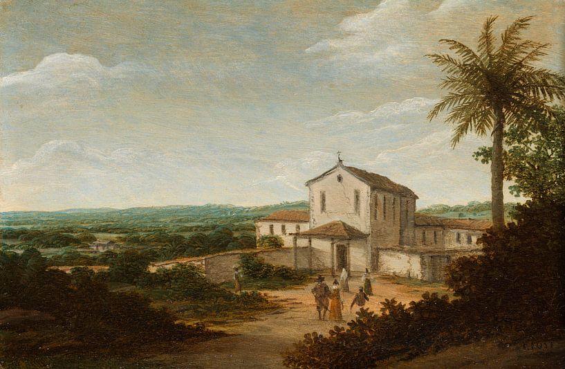 Kirchengebäude in Brasilien, Frans Jansz Post von Meesterlijcke Meesters