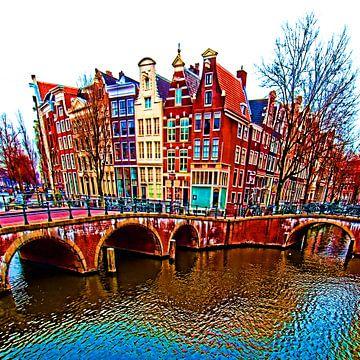 Colorful Amsterdam #115