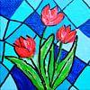 Rode Tulpen van Angelique van 't Riet thumbnail