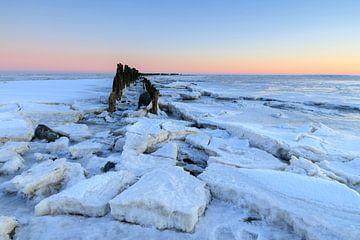 Winter op het Wad van Willemke de Bruin