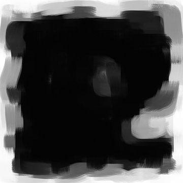 Abstrakte Pinselstriche X von Maurice Dawson