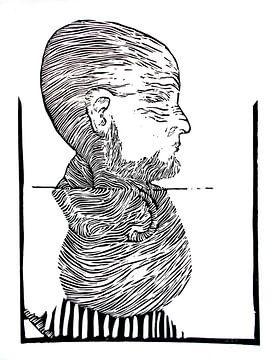 Portret van Eberhard Schmidt-Dranske