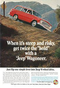 Jeep Wagoneer-Werbung 60er Jahre