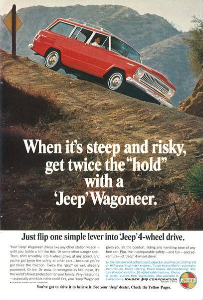Jeep Wagoneer-Werbung 60er Jahre von Jaap Ros