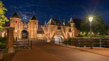Verbindungstor Amersfoort im Mondlicht von Jenco van Zalk