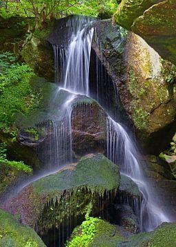 Lichthainer Wasserfall von