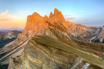 Seceda Alpine Gloed van Michael Valjak