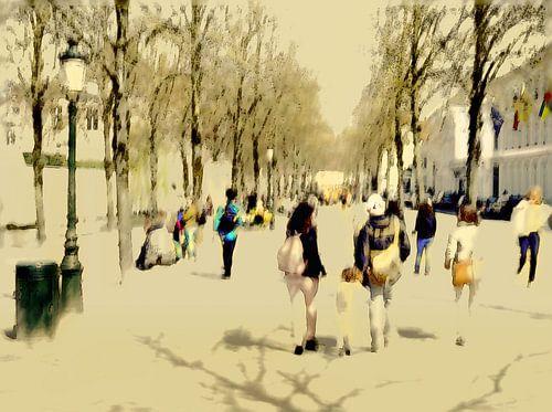Esplanade Brugge van
