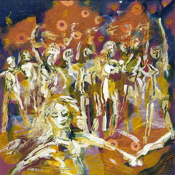 Dance Party People van Eva van den Hamsvoort